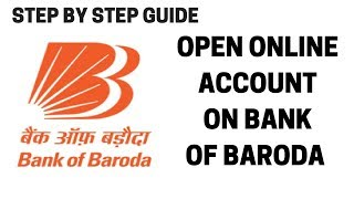 How to open bank of baroda account online | Open Bank of baroda account online