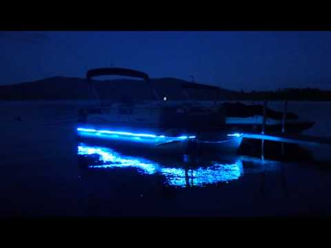 Janet S Tricked Out Pontoon Boat Youtube