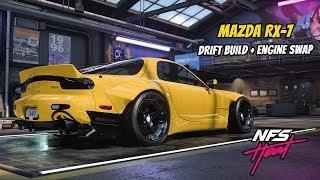 Need For Speed Heat   MAZDA RX-7   DRIFT BUILD Customization/Gameplay!