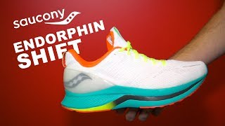 Saucony Endorphin Shift First Look | A Smooth and Highly Cushioned Daily Trainer