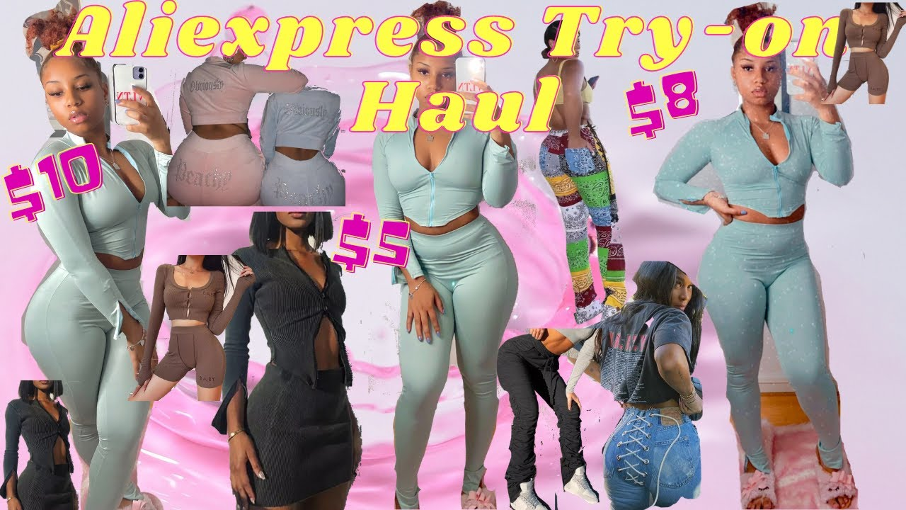 FALL CLOTHING TRY-ON HAUL Pt.2 *aliexpress*
