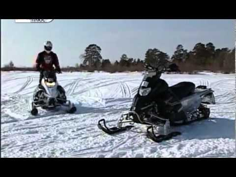 Тест драйв снегоходы Yamaha Nytro Mtx и Yamaha Nytro Mtx SE 162