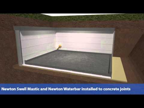 External Basement Waterproofing, New-Build