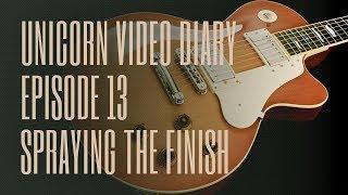 Ruokangas Guitars Video Diary Episode 13 - Finishing