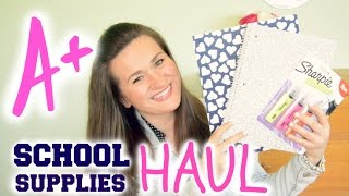 School Supplies Haul 2014! Thumbnail