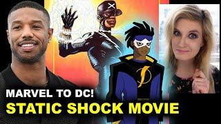 Michael B Jordan Static Shock Movie