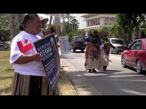 Tonga gears up for a general election