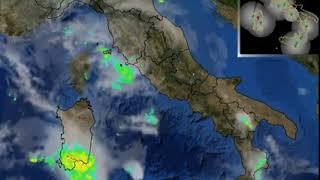 Maltempo, piogge estreme colpiscono il sud della  Sardegna: rischio nubifragi e alluvioni