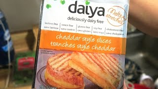 VEGAN GRILLED CHEESE SANDWICH  - Daiya Cheese Review