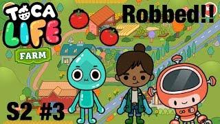 Toca life farm | Robbed! S2 #3