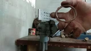 Как дёрнуть проволоку 1.1мм на китайской фильере
