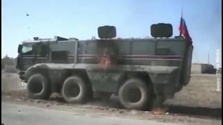 Закидали коктейлями Молотова поджег российского патруля в Сирии попал на видео