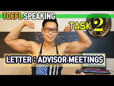 5-MINUTE TOEFL SPEAKING (Task 2: Letter) *120 IN 2020* - YouTube
