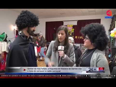 MAU TEMPO NÃO TRAVA FESTA DE CARNAVAL EM MACIEIRA DE SARNES