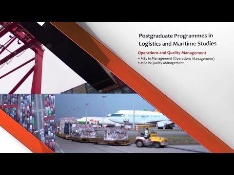 PolyU Logistics & Maritime Studies - Postgraduate Programmes