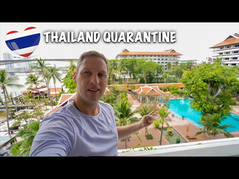 Luxury Hotel Quarantine Bangkok Thailand 2021 - Anantara Riverside ASQ Hotel