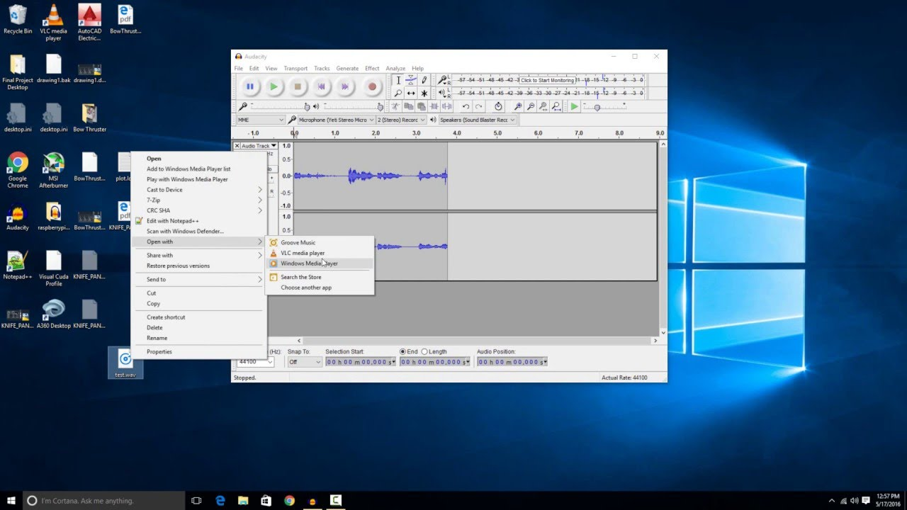 How to record a microphone on windows 10