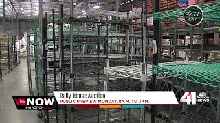 Rally House holds auction for warehouse items