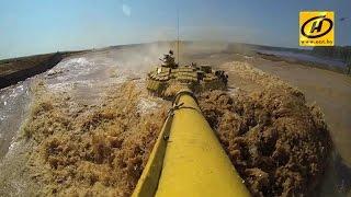 Танковый биатлон, подготовка в Беларуси