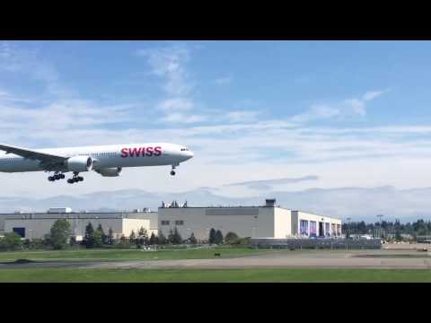 Paine Field (KPAE) Plane Spotting Compilation!