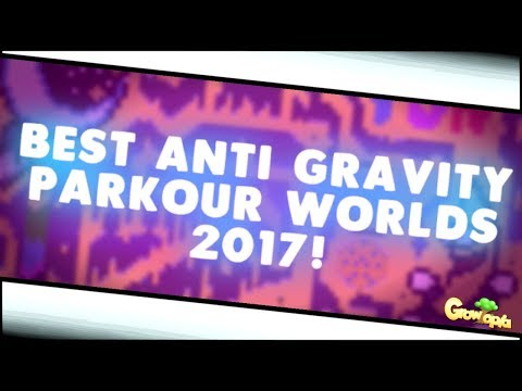 Growtopia - BEST ANTIGRAVITY PARKOUR WORLDS 2017