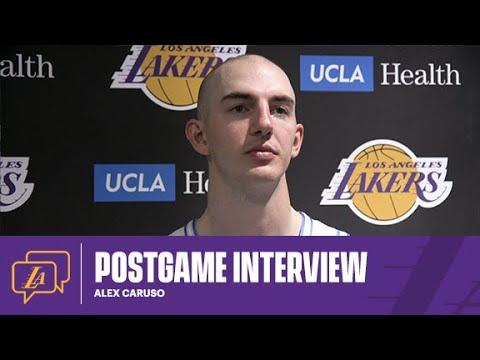 Lakers Postgame: Alex Caruso (4/6/21)