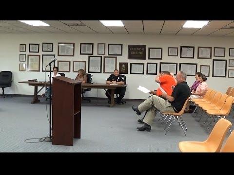 Bridgeport Township Board Meeting August 4th, 2015
