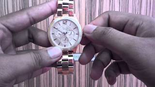 Alexandre Christie 2333BF Rose Gold