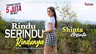 SHINTA ARSINTA   RINDU SERINDU RINDUNYA (Lagu Terbaik Sepanjang Masa) FULL BASS