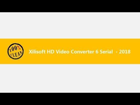 Xilisoft HD Video Converter 6 Serial 2018 - 40 % Off