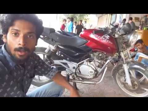 How to Bajaj Pulsar modify a bike gear - pulsar 150 modified -Bullet Singh Boisar