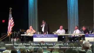 Sheriff Dean Wilson, Del Norte County, CA, Trinity Sheriff