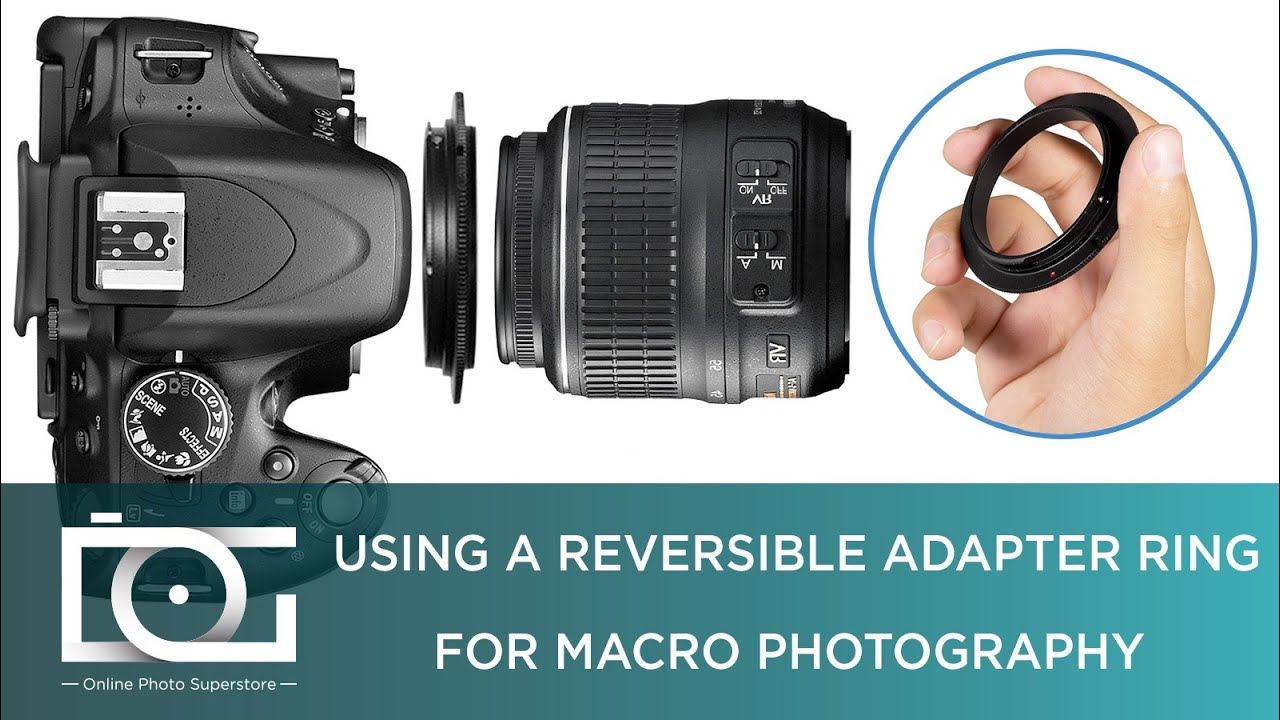 MACRO PHOTOGRAPHY | Reversal Ring Adapter for NIKON Cameras | How To Take  Macro Photos TUTORIAL