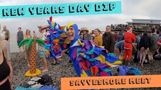Sheringham New Years Day dip 2020