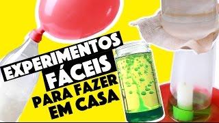 IDEIAS INCRÍVEIS PARA FAZER EM CASA #6 - EXPERIMENTOS CIENTÍFICOS! ?   KIM ROSACUCA