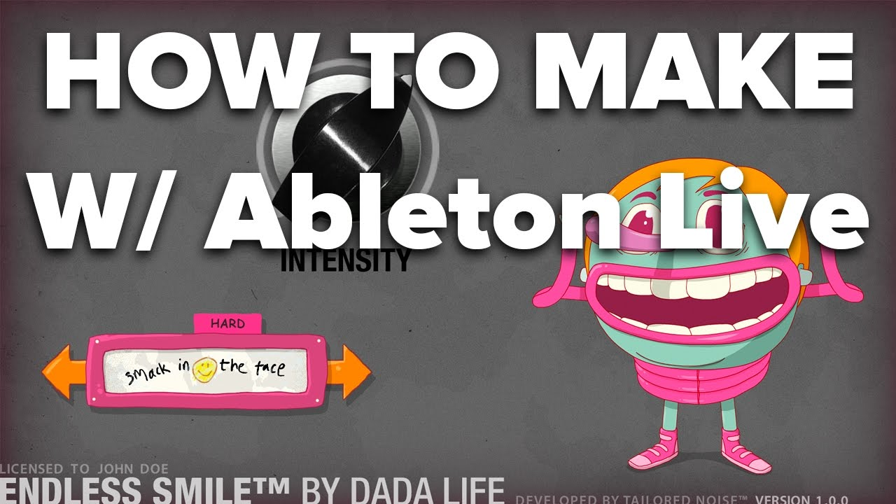 Ableton Tutorial: Making Endless Smile VST w/ Live Devices [Dada Life]