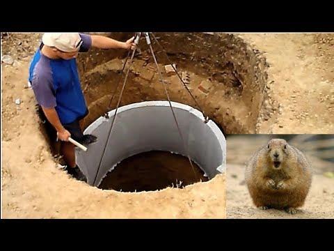 видео: Выгребная яма 13м3. Этапы строительства. / septic tank 13m3. stages of construction.