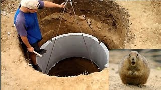 Выгребная яма 13м3. Этапы строительства. / Septic Tank 13m3. Stages of construction.