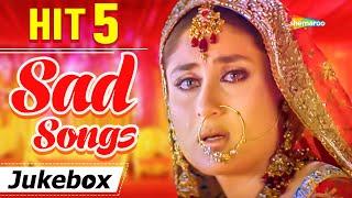 Bollywood Sad Songs | Hit 5 Sad Song - Mashup | Jukebox | Hit Songs | Breakup Songs