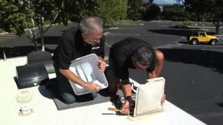 Replace an RV Roof Vent Cover