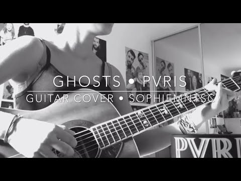 Guitar guitar cover with tabs : GHOSTS by PVRIS • ACOUSTIC GUITAR COVER • WITH TABS - YouTube