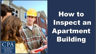 How to Inspect an Apartment Building