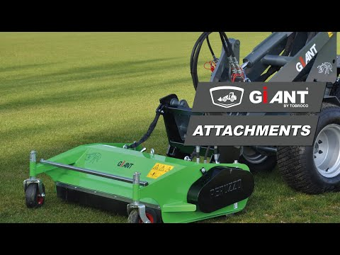 GIANT D332SWT & D204SW with flail mowers