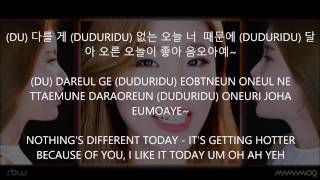 Um Oh Ah Yeah (Acapella Ver.) - Mamamoo [Han,Rom,Eng] Lyrics
