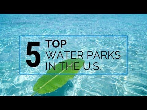 🔴 Top 5 Water Parks In The USA | GIVEAWAY | WATCH NOW