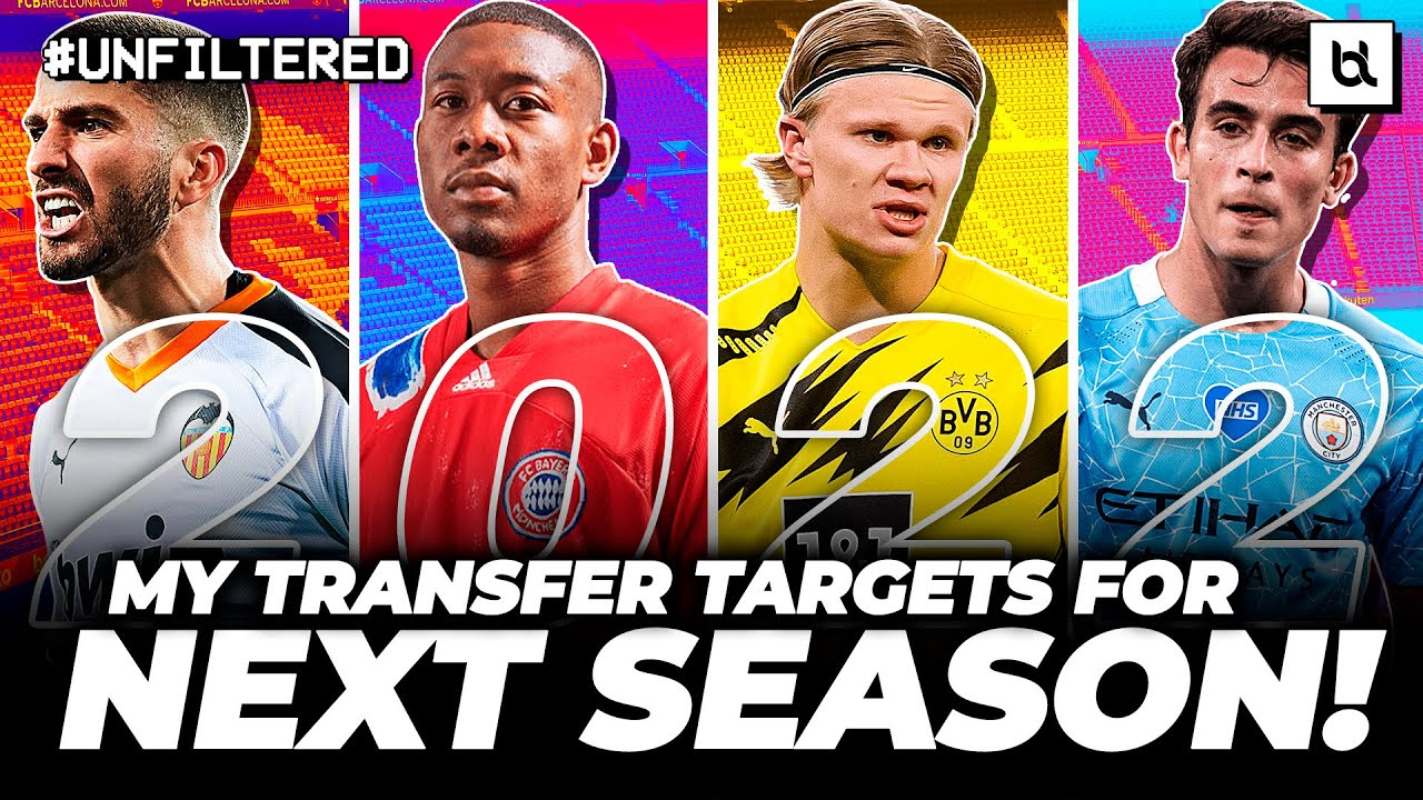 Download Every SENSIBLE Barcelona Transfer Target For Next Season! (2021/22)