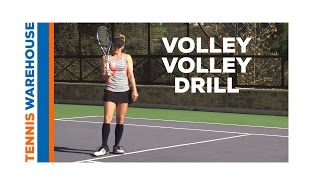 Tennis: Volley to Volley Drill with Bethanie Mattek-Sands