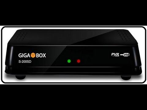 Resultado de imagem para GIGABOX S-200 SD
