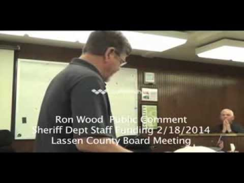 Lassen County Sheriff funding