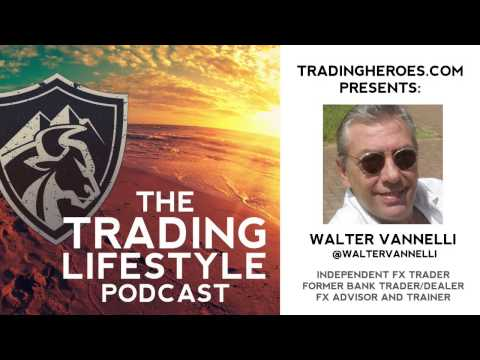 EP17 \\ Bank Dealer Turned Independent Trader Walter Vannelli Shares His Experience